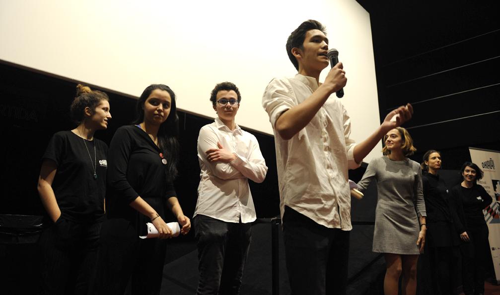 Entrega de premios por el Jurado joven
